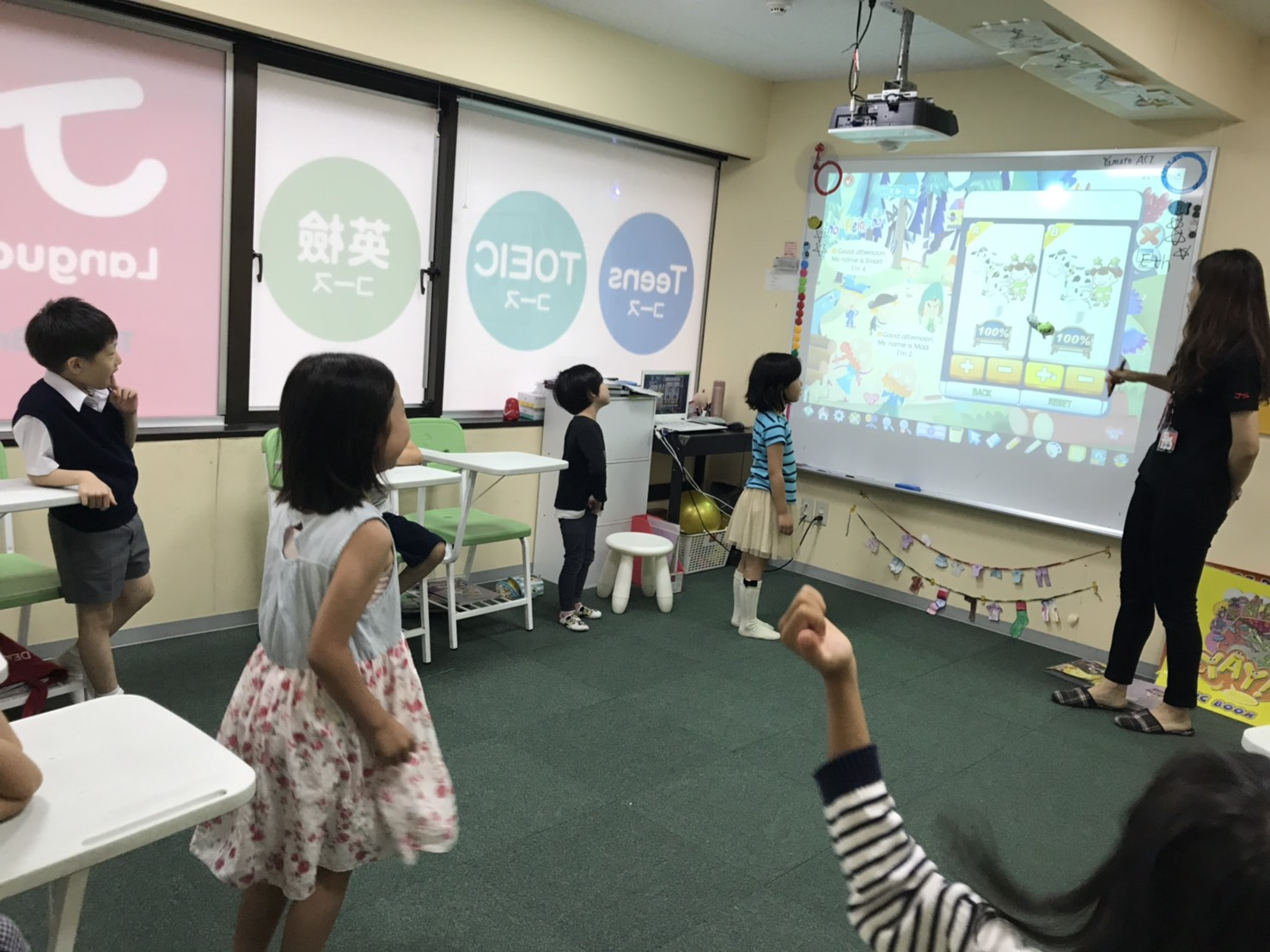 Part-Time English Teaching Position for Children in Central Tokyo