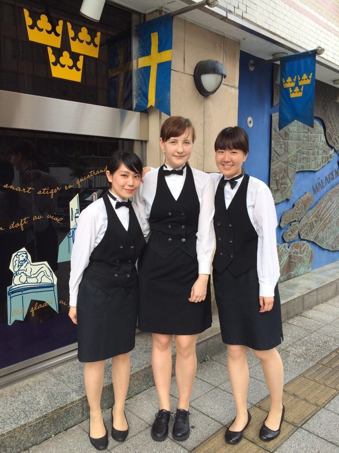 Hall/Kitchen Staff Wanted!! for Swedish Restaurant in【Akasaka】