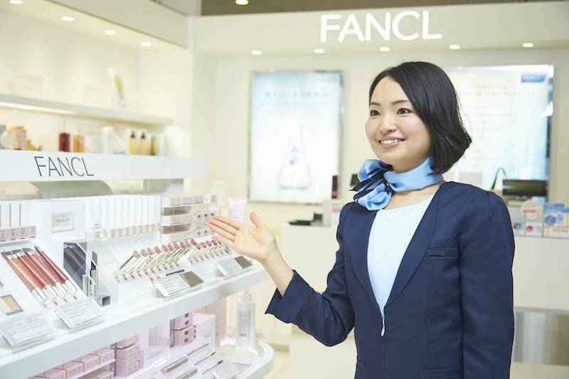FANCL Cosmetics Salesperson and Makeup Consultant Wanted! Full Time Positions Available (¥1,400/h) 【Tokyo-all area】