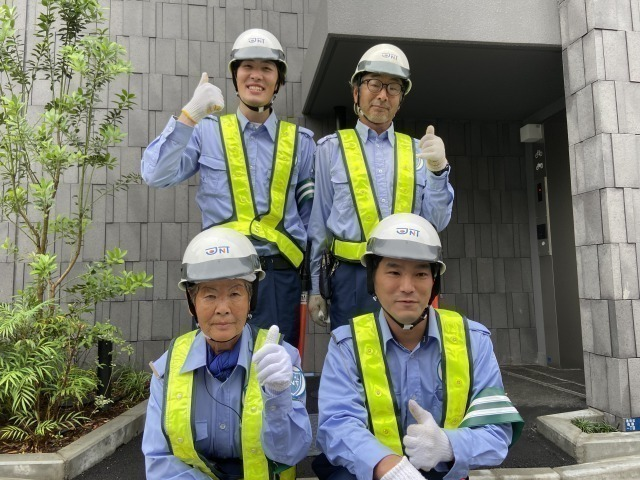 【Tokyo】 Traffic Guards to Keep People Safe Mainly at Construction Sites
