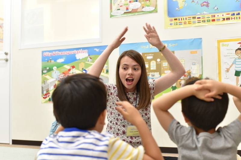 【Kanto Area】 Part Time English Teacher for Children			(Saturday&Sunday)