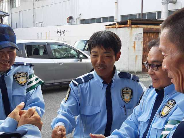 【Aichi】Traffic Guards to Keep People Safe| Clean Dormitory with Meals