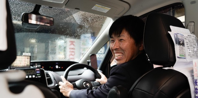 【Yokohama】Taxi Drivers in the Suburbs