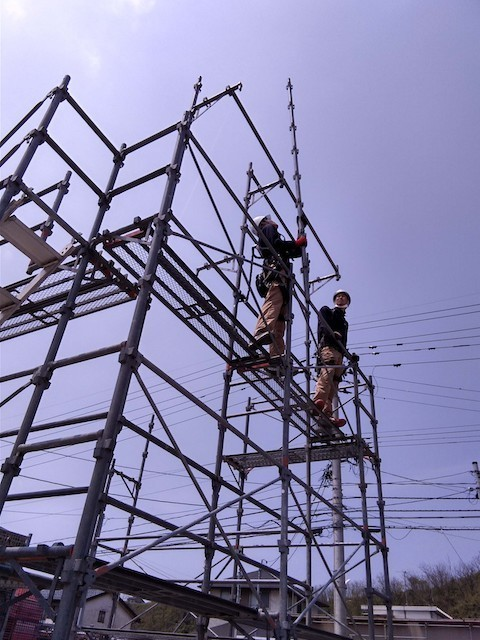 【Aichi, Gifu, Mie】Scaffolding Assembly and Disassembly at Construction Sites