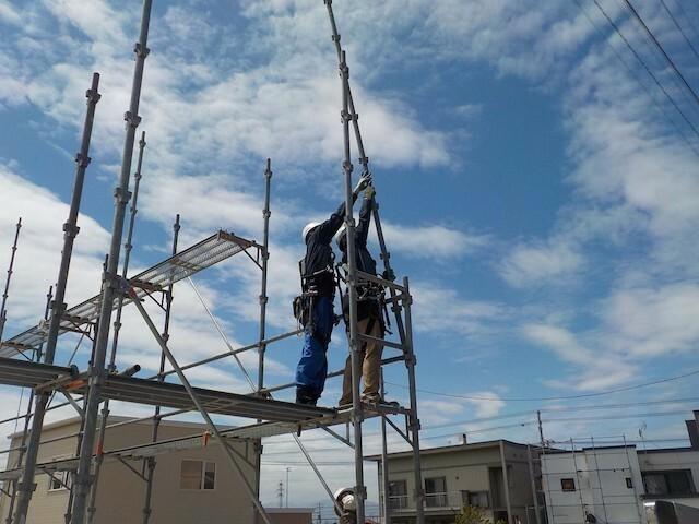 【Tokyo, Kanagawa, Saitama, Chiba】Scaffolding Assembly and Disassembly at Construction Sites