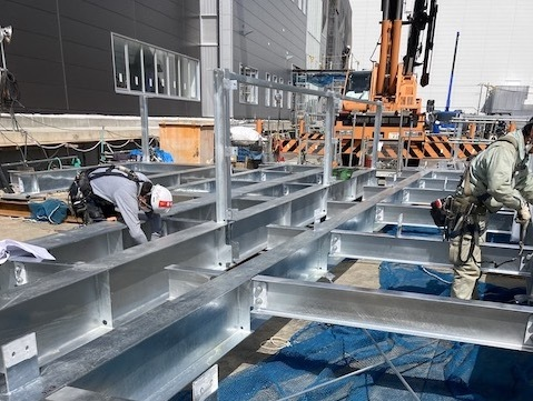 【Osaka】Scaffolding Assembly Work at Construction Sites