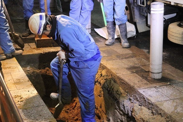 【Kanagawa】Worker Wanted to Bury Power Lines Underground