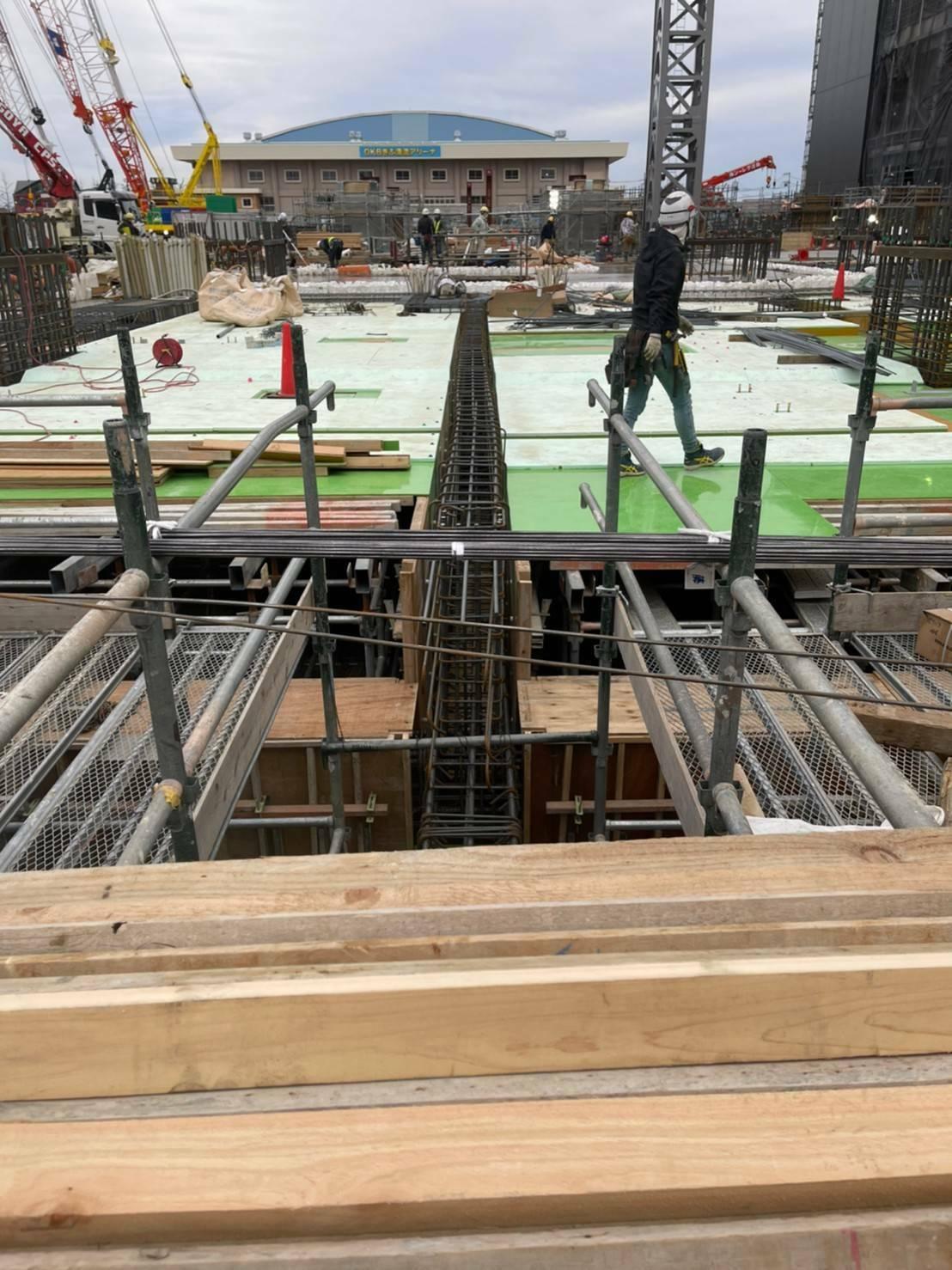 【Gifu】Carpenter at Reinforced Concrete Building Construction Sites