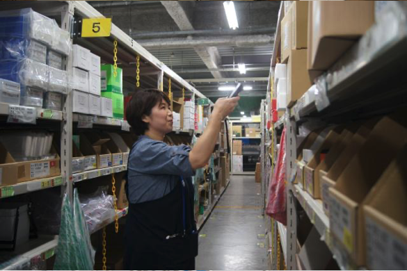 【Aichi】Shipping and Receiving Palm-sized Products