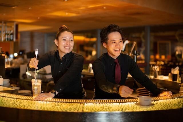 Waiter or Kitchen Staff at a Customer-Friendly Restaurant!