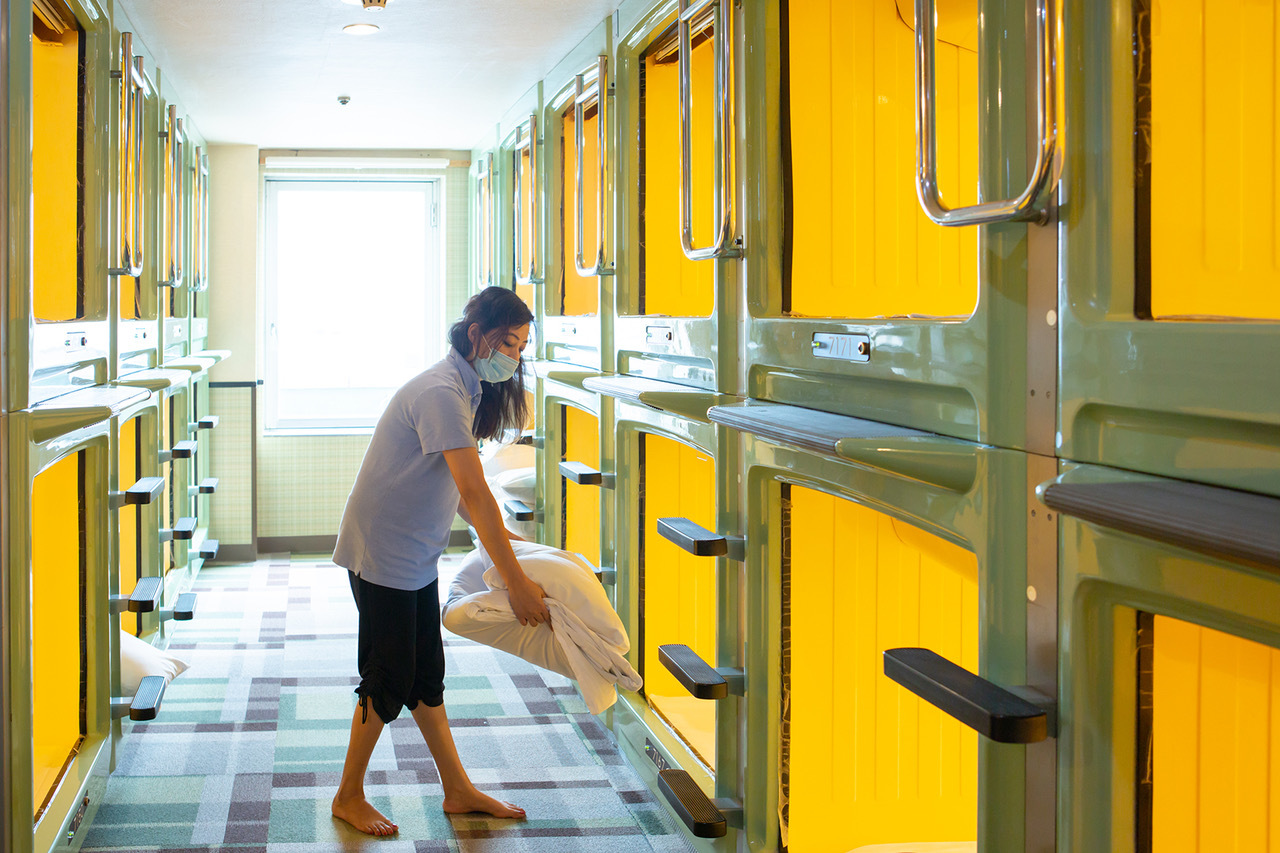 Capsule Hotel Cleaning STAFF ♪ No Experience Needed! ☆ 5 minutes Walk from Shinjuku ♪