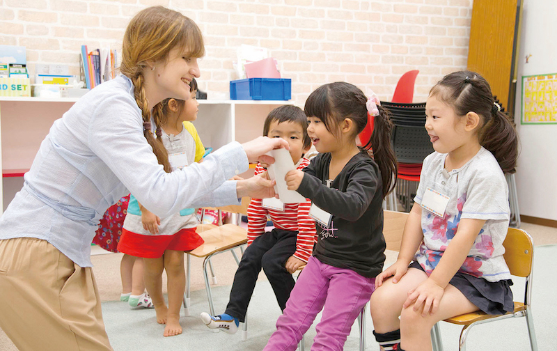 Full Time English Teacher in the Kanto Area Needed!