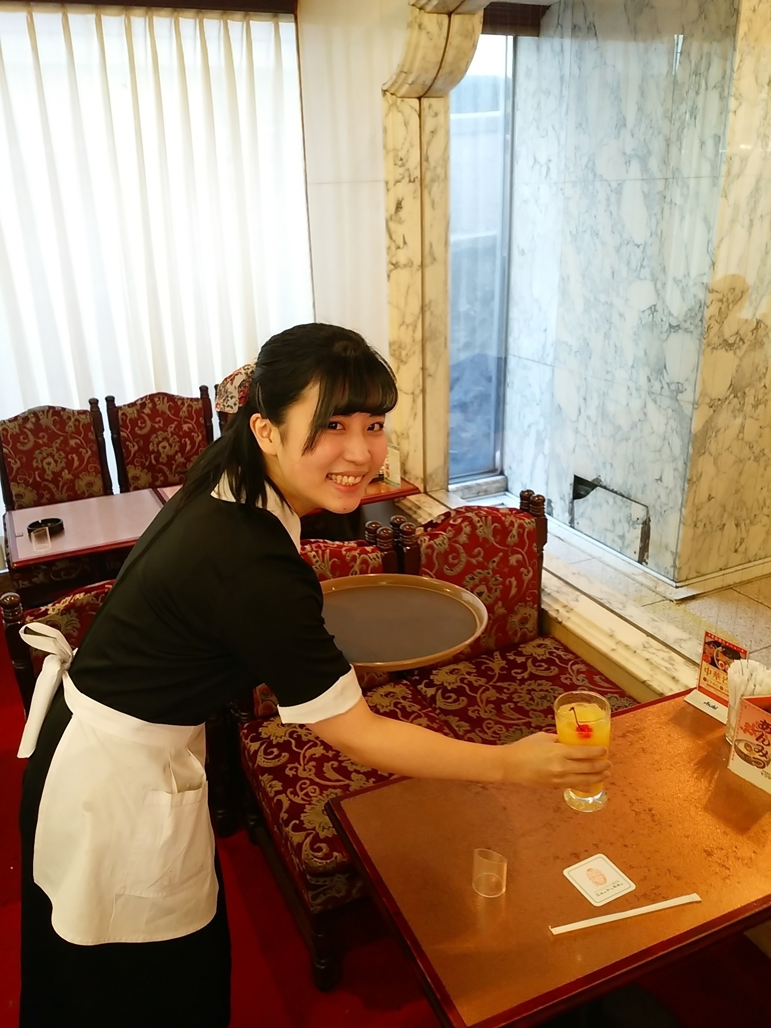 Server & Cooking assistant at Showa Retro Coffee Shop